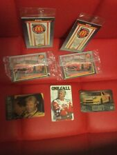 1992 NASCAR Maxx Limited Edition McDonald's Collector's Series4 Packs SEALED