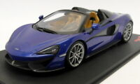 TSM Top Speed 1/18 scale - TS0142 McLaren 570S Spider Antares Blue