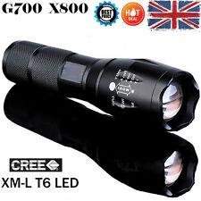 G700 X800 5000 Lumen Zoomable XML T6 LED Linterna Foco Antorcha Lámpara Luz 18650