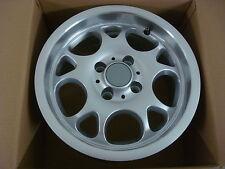 Einzelstück Emotion Wheels 7x14 4x100 ET25 Silber / gebraucht / RIEGER-Tuning