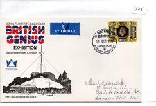 GB-Souvenir COVER-FDC - 1181-SPECIALI - 1977-British GENIUS Esposizione