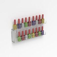 Wall Mounted Acrylic Nail Polish Display Shelf Nail Varnish Bottle Stand Holder