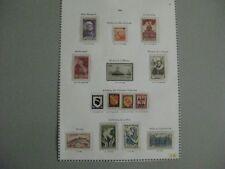 timbres français :  lot année 1946 YT n° 749 à 762 *