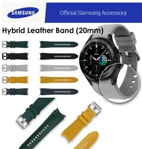 Samsung Galaxy Watch 4 Classic Hybrid Leather Band M/L Genuine Official Strap