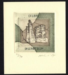 31)Nr.032- EXLIBRIS- Detlef Olschewski - Auflage: 43/70