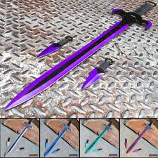 "29.75"" Hero Edge Fantasy Sword w/ 2 Pc Knives Katana Dual Blade"