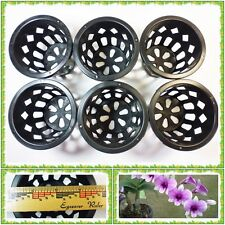 5 x New Mesh Net Orchid Pot Cup Basket 3.7/8 Inch Hydroton Paphiopedi Grow Seed