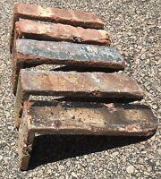 200=Thin Used Dallas Antique Face Brick Veneer 2-1//4x7-5//8x1//2 28.57 Sq. Ft.