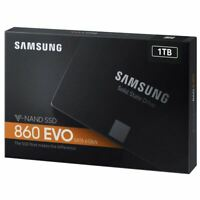 Brand New Samsung SSD 860 EVO 1TB 2.5 Inch SATA III Internal SSD (MZ-76E1T0B/AM)