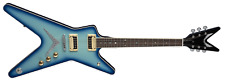 Dean Model ML79 BB BlueBurst ML Series Electric Guitar with Zebra Pickups