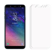 2 frontal transparente Samsung Galaxy A6 Plus 2018 Lámina Film Protector de pantalla la pantalla