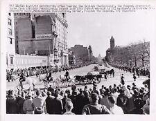 JOHN F. KENNEDY FUNERAL Washington DC * VINTAGE Classic Iconic 1963 press photo