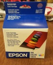 Genuine Epson Color S020191 S02089 Ink Cartridge for Stylus 760 860 740 Expired