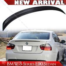 335i Sedan Unpaint E90 For BMW M Tech Style 3-series Rear Trunk Spoiler 2011 M3
