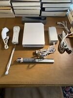 Nintendo Wii Console White RVL-001 (GameCube Compatible) Bundle Complete Tested