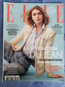 Magazine ELLE n°3720 du 7 avril 2017 Arizona Muse - révolution du jean TBE