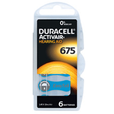 DURACELL Mercury Free Apparecchio acustico Batterie di dimensioni 675 x 60 CELLE