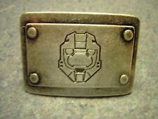Halo Master Chief Metal Belt Buckle In Good Condition
