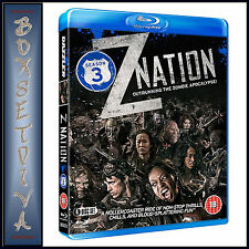 Z NATION - COMPLETE SEASON 3   **BRAND NEW BLU-RAY***