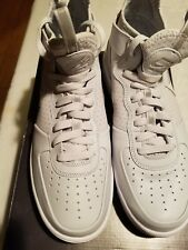 New Nike Air Force 1 UltraForce Mid Pure Platinum Grey White  864014-002 sz 8