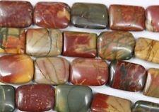 Mode, beau, 38cm,13x18 mm Perles , multicolore, picasso, jaspe, lâche,