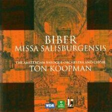 KOOPMAN/ABO - MISSA SALISBURGENSIS  CD CHOR KLASSIK NEUF BIBER