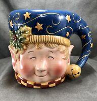 Susan Winget Certified International 'Tis The Season Christmas Elf 20 oz Mug Cup