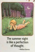 Mary Engelbreit Artwork-The Summer Night-Handmade Magnets