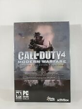 Call of Duty 4 Modern Warfare 2007 Limited Collector's Edition PC COMPLETE