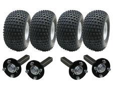 DOUBLE ESSIEU ATV REMORQUE Kit - quad - 4 roues + quatre MOYEU & STUB sans