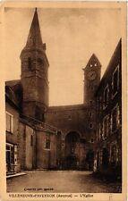 CPA Villeneuve d'Aveyron - L'Eglise (474991)