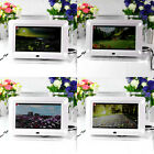 7inch TFT-LCD Flashing Digital Photo Frame Movies MP3 MP4 Player Alarm Clock L1