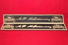 Two Dr McGillicuddy's Signature Heavy Duty Black Bar Rail Service / Spill Mats