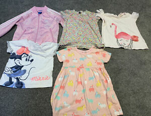 9-12 Months Baby Girl Bundle Adidas, Bluezoo, Minnie Mouse, Zara...
