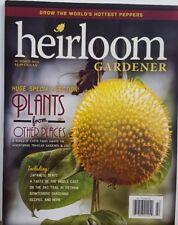 Heirloom Gardener Summer 2014 Plants From Other Places Free Shipping Cb