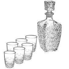 Bormioli ROCCO Servicio 7 piezas Laberinto Licor de Cristal