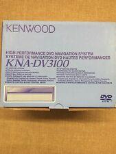 Kenwood KNA-DV3100 DVD-ROM GPS Navigation System - Brand New