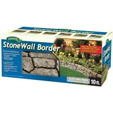 Landscape Plastic Edging Outdoor Dalen Products 6 in. x 10 ft. StoneWall Border