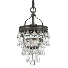 Crystorama Calypso 1 Light Bronze Mini Chandelier - 131-VZ