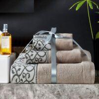 Cotton Towel Set Luxury Adults Bathroom Handkerchief Face Washcloth 3pcs/Lot
