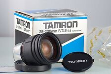TAMRON ASFERICHE F3.8-5.6 28-200 ADAPTALL 2 71A MADE IN JAPAN CLASSIC LENS