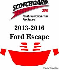 3M Scotchgard Paint Protection Film Pro Series 2013 2014 2015 2016 Ford Escape