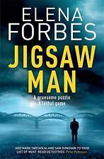 Jigsaw Man by Elena Forbes (author)