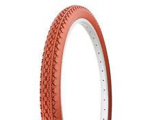 "2- Bicycle Beach Cruiser Tire Duro 26"" x 2.125"" Clay/Clay Side Wall HF-133 Bike"