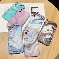 Art Painting Marble Soft Phone Case Cover For iPhone 11 Pro XS Max X XR 7 8 Plus