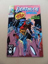Deathlok Special 3 of 4 . SIGNED . Marvel 1981 . VF