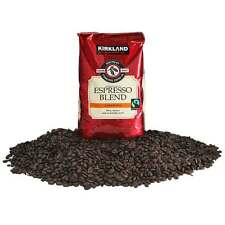 Kirkland Whole Bean Coffee Espresso 907g Rich Intense Caramelly Sweet DeepSmoke