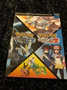 Pokemon Black and White Version 2 Official Unova Strategy Guide