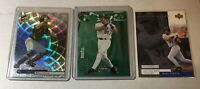 MIKE PIAZZA 3 CARD LOT 1999 HOLOGRFX 99 UPPER DECK POWER ELITE SKYBOX NY METS