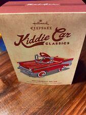 Hallmark Kiddie Car Classics: 1957 Chevrolet Bel-Air Die-Cast Ornament
